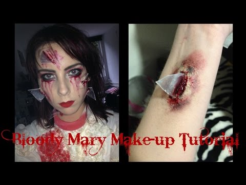 Bloody Mary Halloween Make Up Tutorial