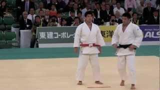 井上康生 + 井上智和 投の形 2012 全日本柔道選手権大会