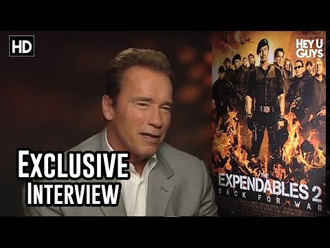 Arnold Schwarzenegger Interview - The Expendables 2