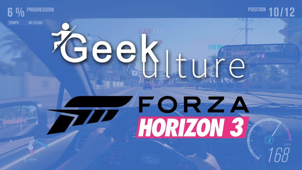 IMPRESSIONS #1 - FORZA HORIZON 3
