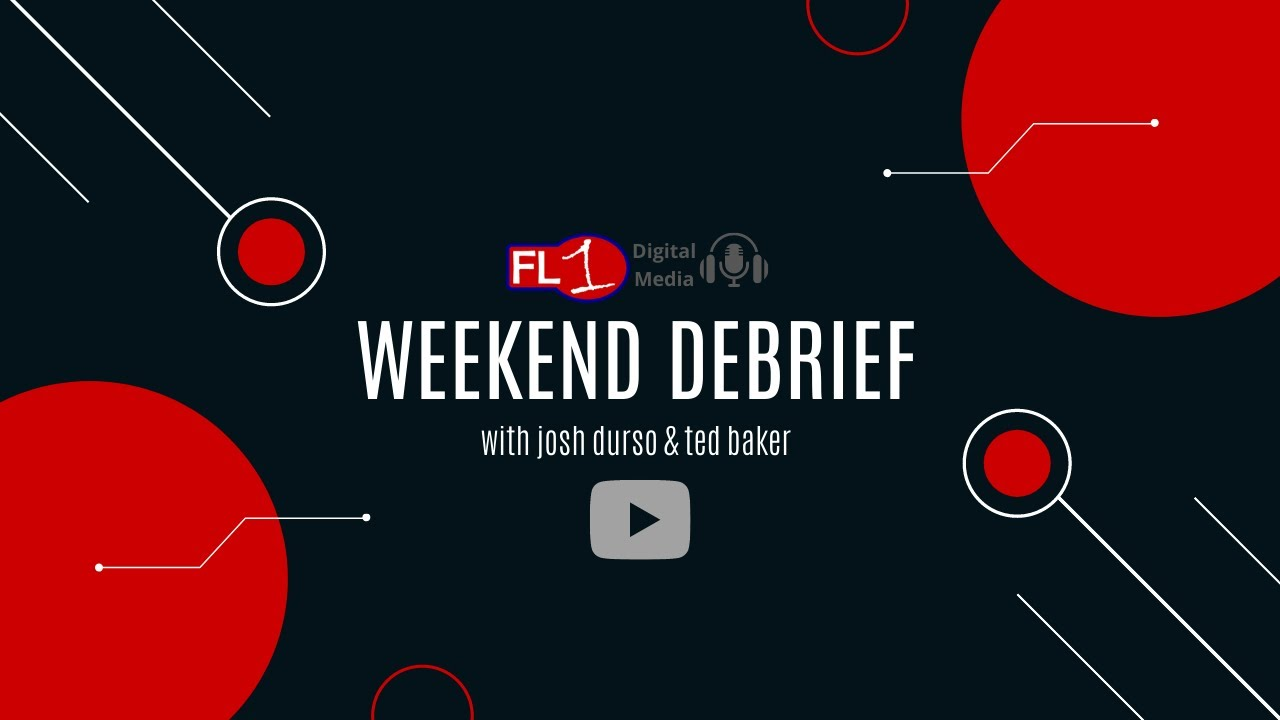 WEEKEND DEBRIEF: New episode LIVE at 9:45 a.m. (podcast)