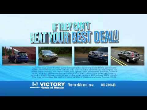 Victory Honda of Muncie Gas Card Offer | Used Car Dealer Near Indianapolis IN