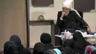 Gulshan-e-Waqfe Nau (Lajna) Class: 9th January 2010 - Part 6 (Urdu)