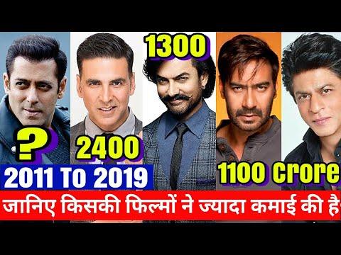 Box Office Report card Of Akshay Kumar,Ajay Devgn,Salman khan,shahrukh Khan,Aamir Khan,Total dhamaal