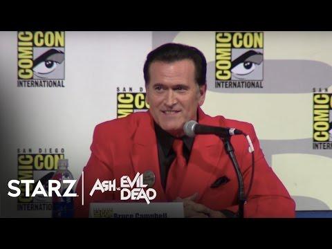 Ash vs Evil Dead | San Diego Comic-Con 2015 Panel | STARZ