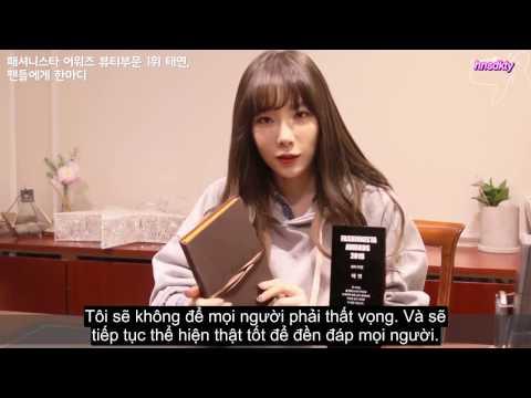 [Vietsub] Celeb's Pick - Interview with Taeyeon