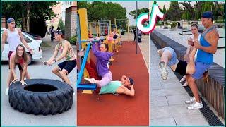 Bugworkout Hot TikTok Crazy Prank Workout Challenge 2021 BurgerBreak | Prank in Public Tiktoks