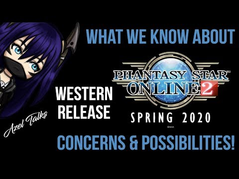 Phantasy Star Online 2's Spring 2020 Western Release! What We Know, Concerns, And Possibilities!