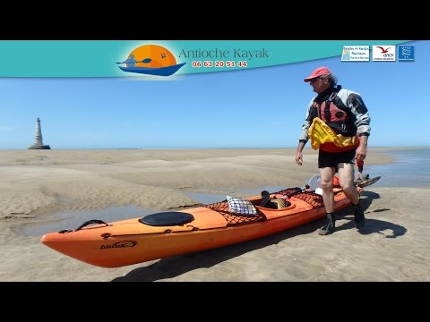 Balade en mer avec Antioche Kayak