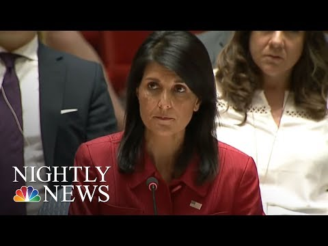 Emergency U.N. Meeting Held After North Korea Missile Launch | NBC Nightly News