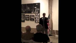 Tom Davis Speaks at a Greenville Tea Party Meeting