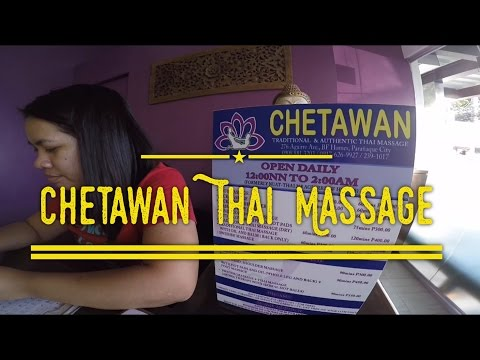 Chetawan Thai Massage Aguirre Avenue BF Homes Sucat Paranaque by HourPhilippines.com