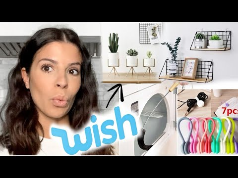 I TRIED WISH HOME DECOR | I BOUGHT THE CHEAPEST ITEMS!