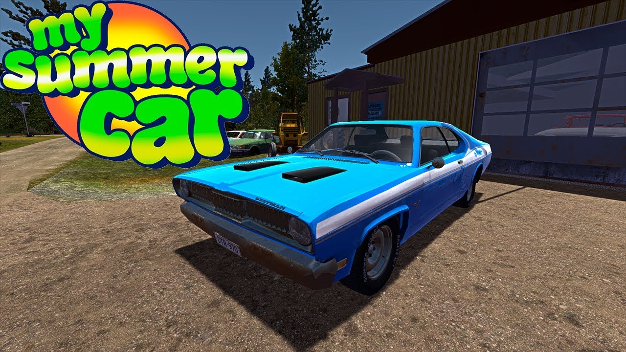 COMPREI UM DUSTMAN MY SUMMER CAR!