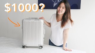 Is $1000 RIMOWA Carry On Worth It? | RIMOWA Luggage Review 2019