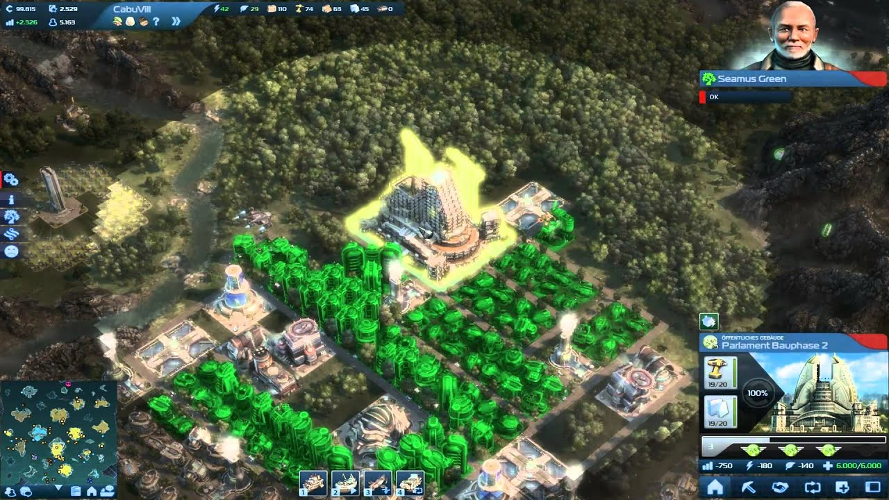 Let s play anno 2070 endlos die tiefsee folge 034 insel for Anno 2070 find architect
