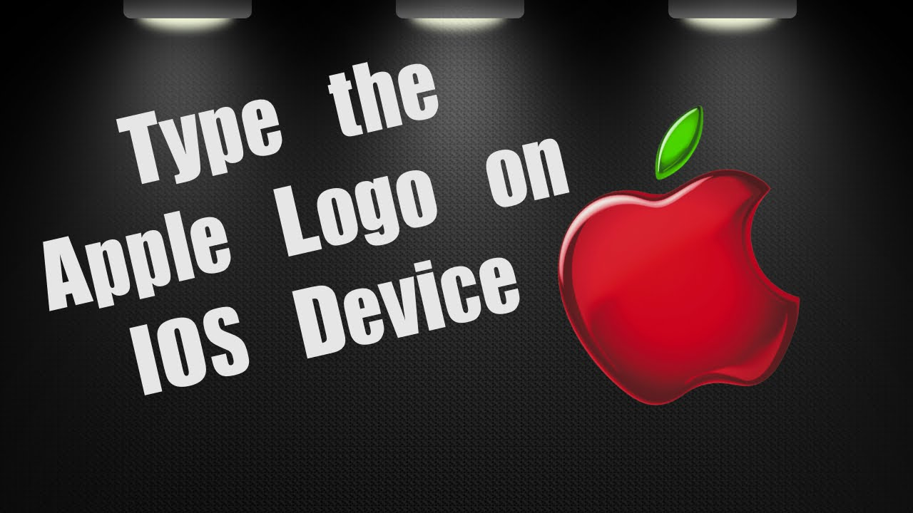 Apple tips logo on ios keyboard youtube apple tips logo on ios keyboard biocorpaavc Gallery