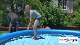 Надувные бассейны INTEX(Видео описание (инструкция) надувных бассейнов Intex. Бассейны Intex вы можете купить недорого в интернет-магази..., 2016-05-23T12:11:22.000Z)