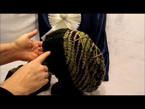 DIY : STRICKEN lernen Unisex Mütze, lange Beanie  Modell 2-alle Größen, by kekaplauderei