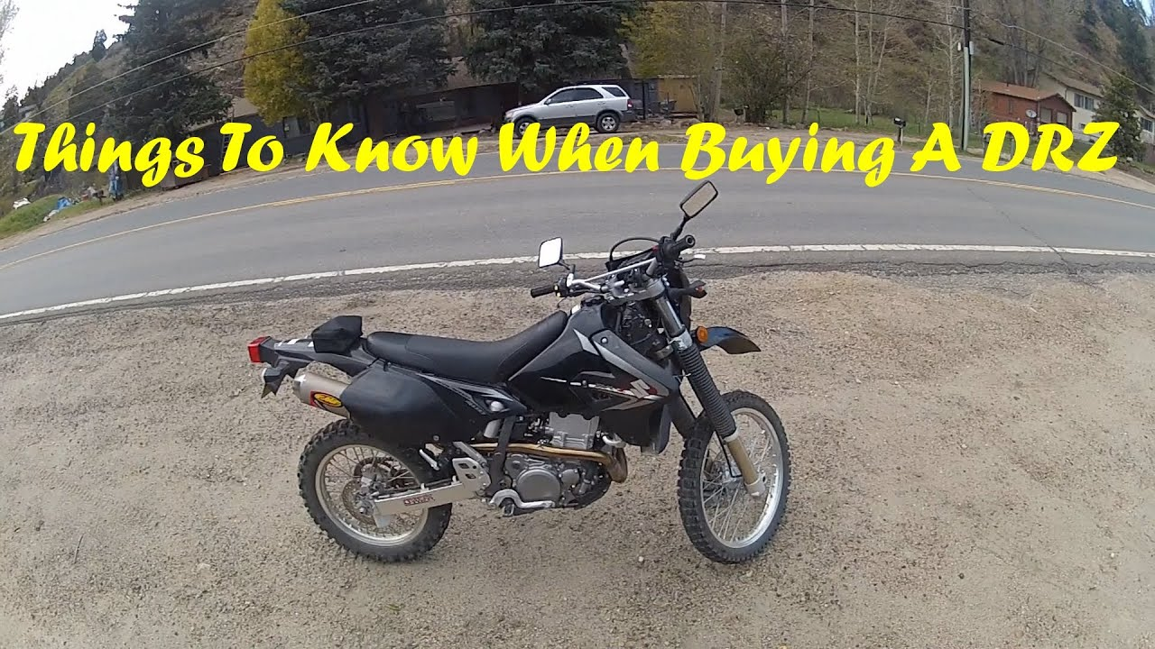 Things To Know When Buying A DR-Z400S - YouTube