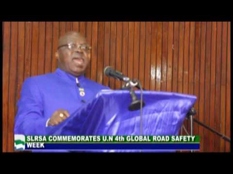Sierra Leone Road Safety Authority -   SLBC TV News 9 May 2017