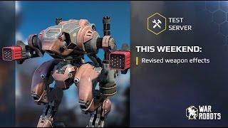 War Robots Gunslinger Bots And New Weapon Effects Test Server 2 7 0