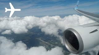 Thomson B767-300 Onboard Afternoon  Landing at Sanford International Airport