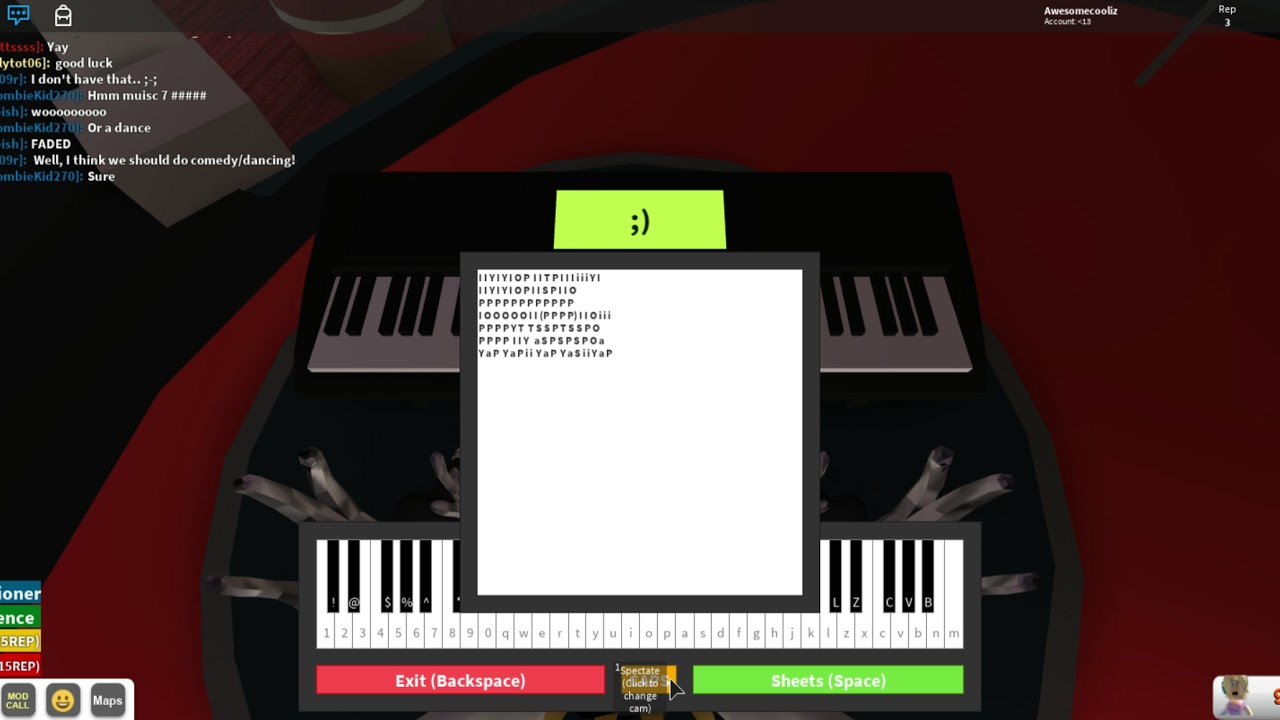 Faded On Roblox Piano Sheet Roblox Notes In Desc Rgt Piano Faded By Alan Walker Win Youtube