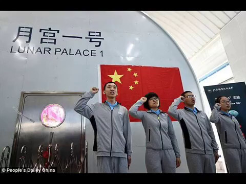 Chinese Students Are Sealed In A 'Lunar Palace' On Earth For 200 Days