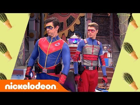 Kid Danger & Captain Man Battle the Toddler 🍼 | Henry Danger | Nick