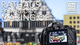 Making of Lego Paderborn City Hall