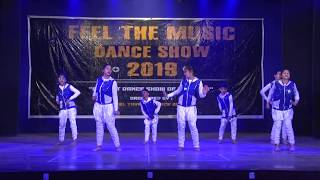 HIP HOP DANCE | FEEL THE MUSIC DANCE SHOW 2019