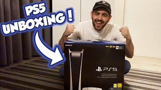 PS5 UNBOXING ΣΤΗΝ 1Η ΜΕΡΑ ΚΥΚΛΟΦΟΡΙΑΣ!! HYPEEEE!