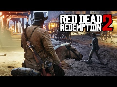 Red Dead Redemption 2 NEW GAMEPLAY SCREENSHOTS!  New Release Date and E3 2017 On PS4 and Xbox One