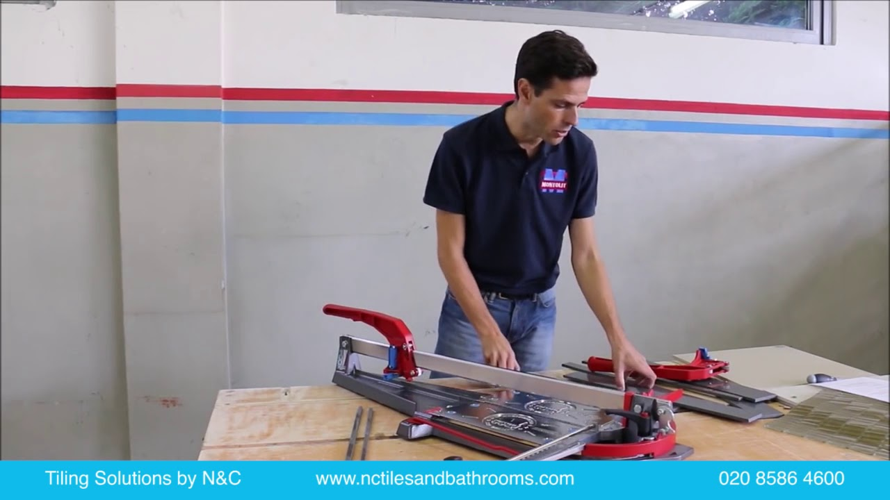 How to dry cut porcelain tiles with a manual tile cutter youtube how to dry cut porcelain tiles with a manual tile cutter dailygadgetfo Gallery
