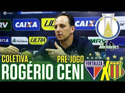 [Série B '18] Coletiva Rogério Ceni | Pré-jogo Fortaleza EC X Sampaio Corrêa FC | TV ARTILHEIRO