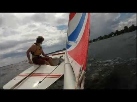 Extreme Sunfish Sailing