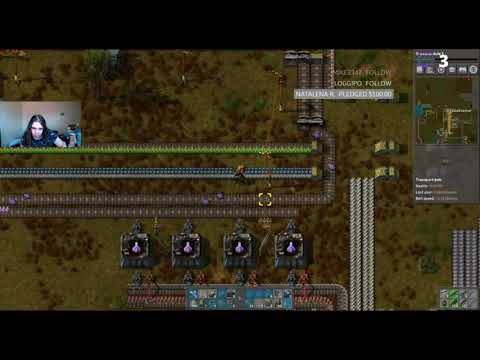 Let's Stream Factorio Singleplayer - Episode 45 - Processing Unit Upgrade
