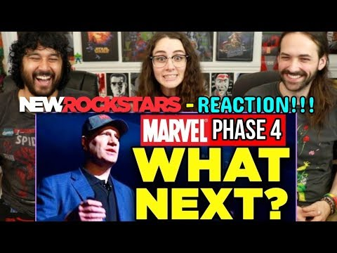 Marvel Phase 4 - WHAT NEXT? (Comic-Con 2019 Preview) | REACTION!!!
