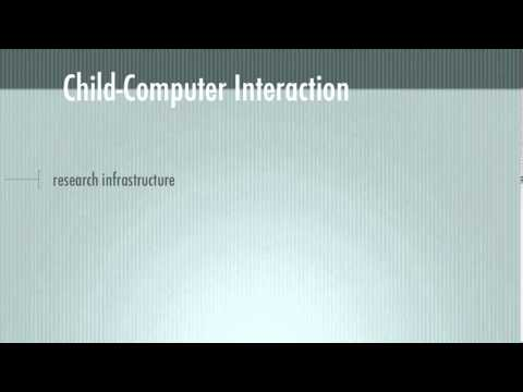 Enhancing the research infrastructure for child-computer
