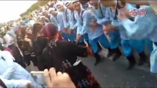 محافظ الاسماعيلية يشارك في ديفليه مهرجان الفنون الشعبية