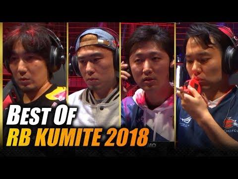 SFV AE ➡ Best Of RBK 2018 💥 Daigo Fujimura Tokido Nemo ProblemX