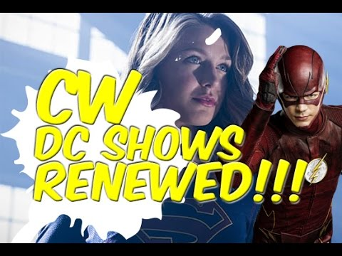 All 4 DC Shows Renewed On The CW! - Lets Talk!