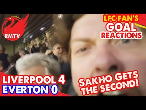 Sakho Gets The Second!   Liverpool 4-0 Everton   LFC Goal Reaction