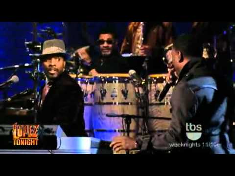 Tyrese Gibson Pays Tribute to Teddy Pendergrass   Come Go With Me   Live HD