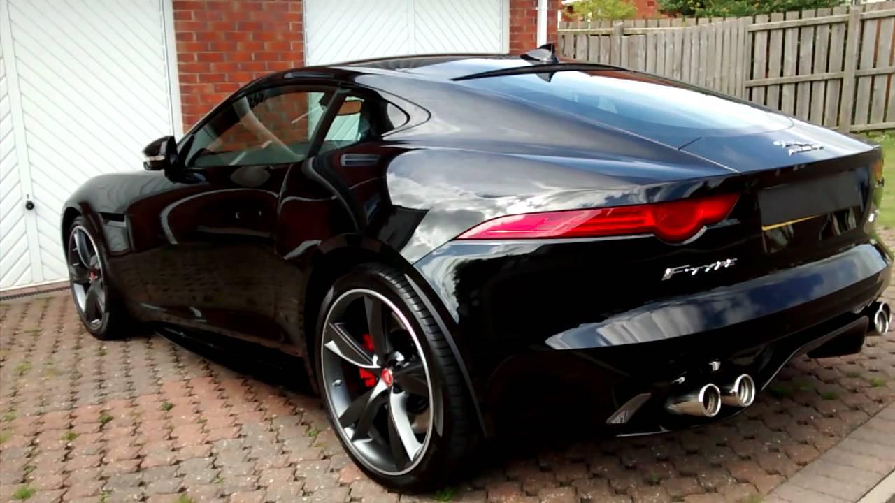 Jaguar F.type AWD.R - YouTube