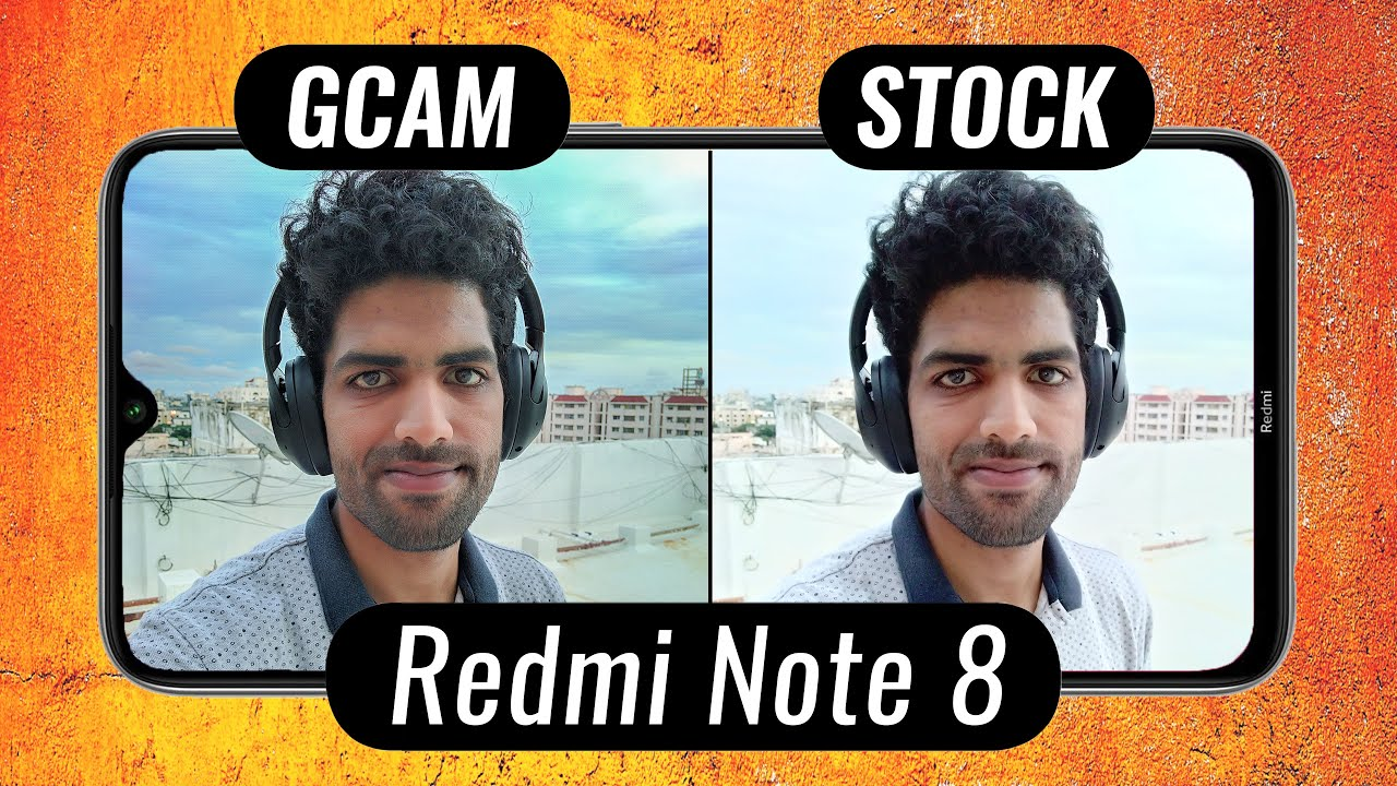 Redmi Note 8 Google Camera vs Stock Camera + GCam Installation (Check Description)