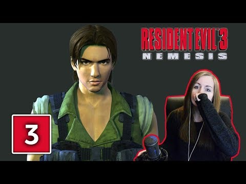 MEETING CARLOS | Resident Evil 3 Hard Mode Gameplay Walkthrough Part 3