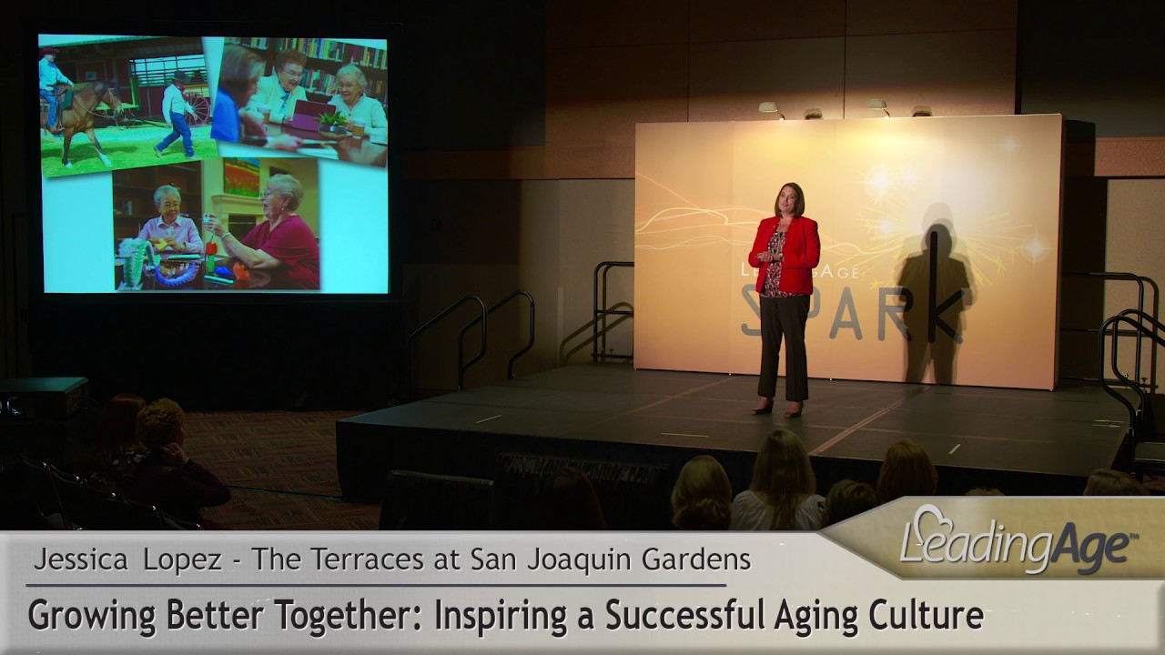 Jessica lopez the terraces at san joaquin gardens inspiring a successful aging culture youtube for The terraces at san joaquin gardens