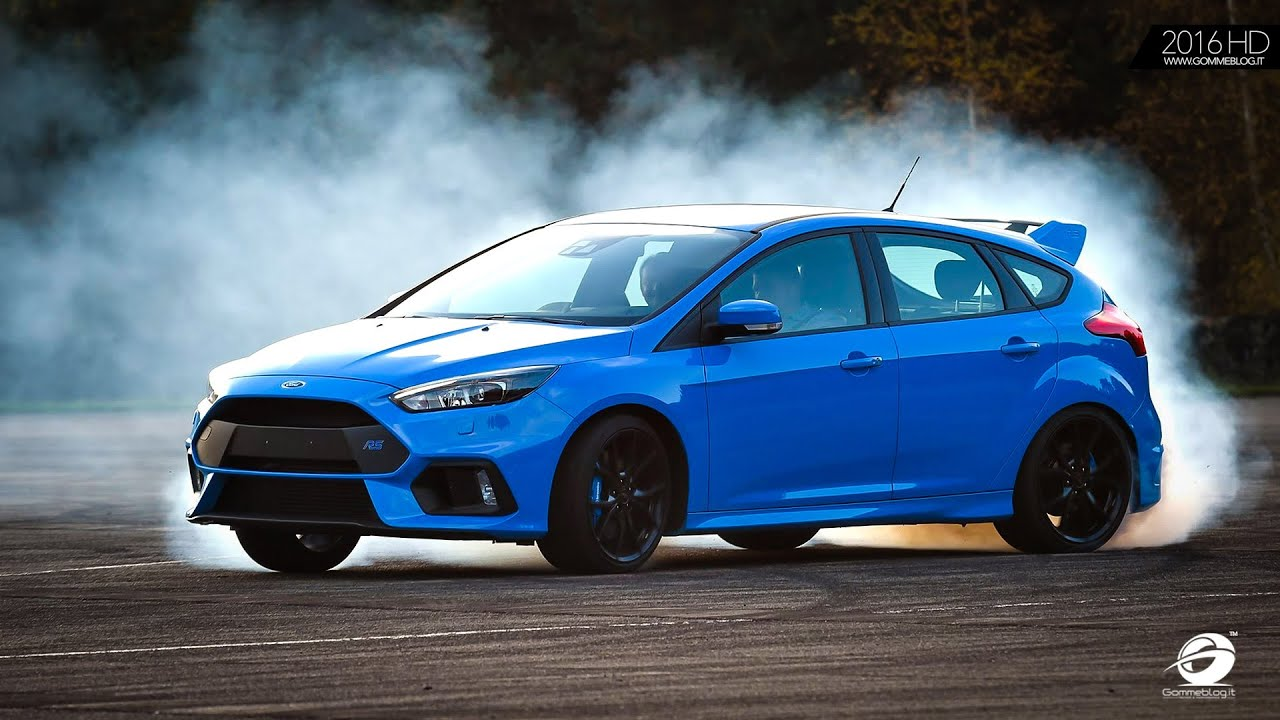 2016 Ford Focus RS + TRACK + DRIFT MODE   Test on Racetrack - YouTube
